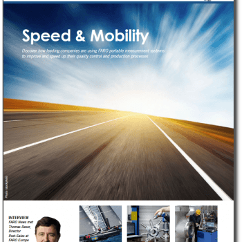 FARO News Speed magazine cover