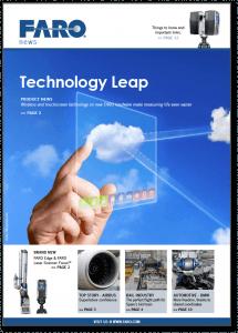 FARO News Speed magazine cover