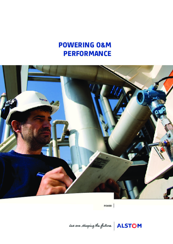 Copywriter for power services brochure