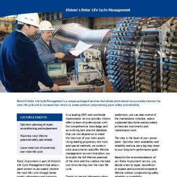 Copywriter for power industry leaflet